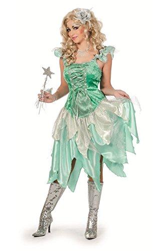 44-A lind grün Schmetteilings Elfe Feenkleid Gr.44 (Tinkerbell Kostüme Schuhe)