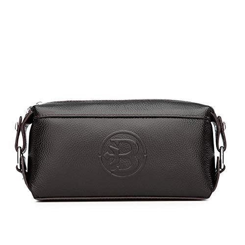 YZJLQML Damentasche DamenbekleidungFashion Multi-Card-Leder Brieftasche Herren Casual Business Brieftasche @Brown