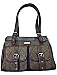 High Sprit Women's Stylish Hand Bag (Multi Color) (Chocolate Brown)