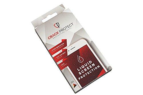 Crack Protect Liquid Screen Protection - Unsichtbarer Und Flüssiger Display Schutz Für Bis Zu Zwei Displays