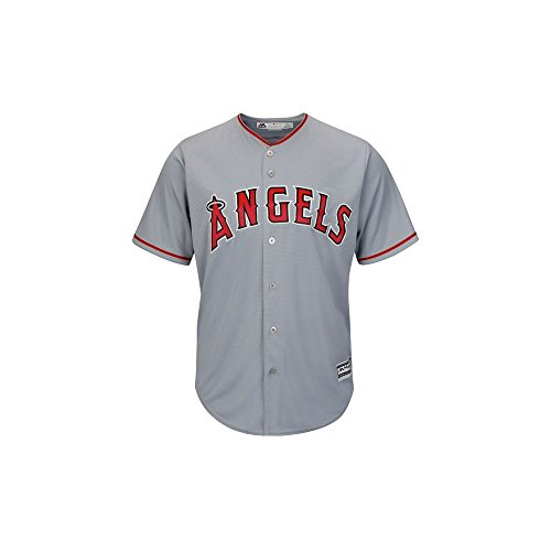 Majestic Athletic MLB Los Angeles Angels Of Anaheim Cool Base Road Jersey Large -