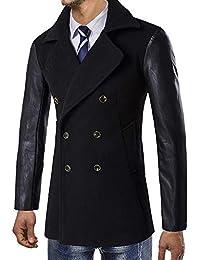 Chaqueta de hombre cálido LILICAT Winter Trench 2018 Chaqueta de abrigo largo Smart Coat