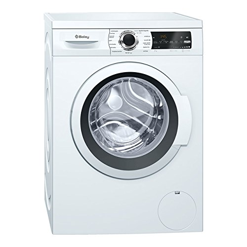 Balay 3TS986BT Independiente Carga frontal 8kg 1200RPM A+++ Blanco - Lavadora (Independiente, Carga frontal, Blanco, Izquierda, LED, 58 L)