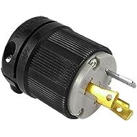 DealMux AC 125V 30A Nema L5-30P 3-Prong Twist Lock Male Enchufe