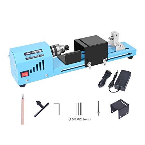 CAR SHUN DIY fundamentale Holzdrehmaschine Mini Drehmaschine Schneidemaschine Poliersäge