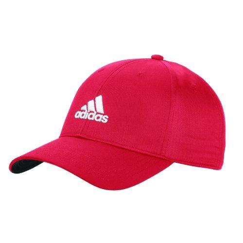 Adidas Golf Herren Performance Max. bequemer Seitensitz verstellbar Mütze - Rot Tour Fit Cap