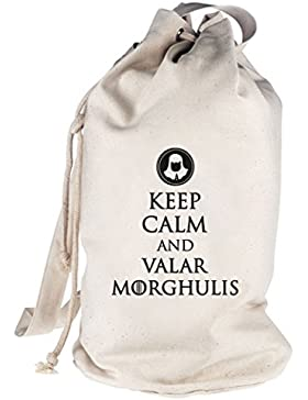 Keep Calm And Valar Morghulis, bedruckter Seesack Umhängetasche Schultertasche Beutel Bag