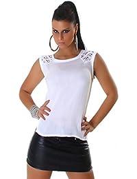 Jela London - T-shirt - Uni - Manches Courtes - Femme
