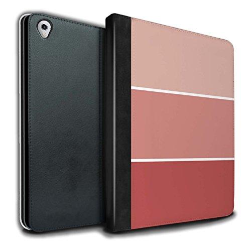 stuff4-pu-leder-hulle-case-brieftasche-fur-apple-ipad-pro-97-tablet-terrakotta-muster-pastell-farbto