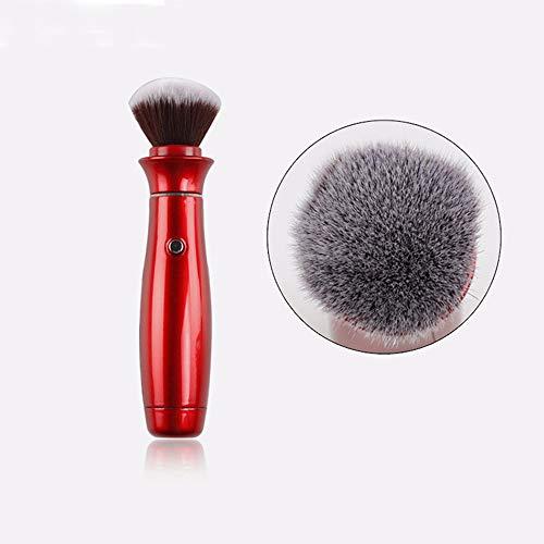 Elektrische Make-up Pinsel Mit, 360 Grad Drehkopf, Professionelle Kosmetik Pinsel Makeup Tools Gesicht Foundation Make-up Pinsel -
