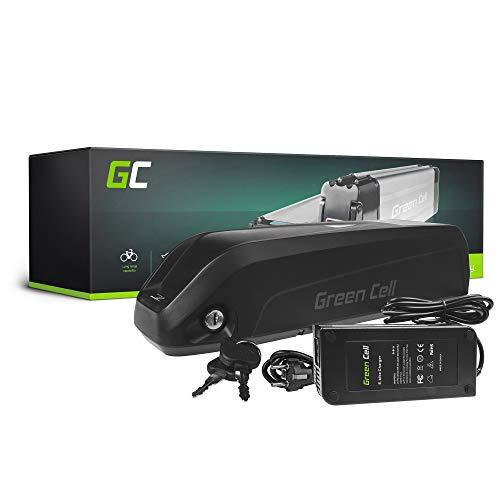 GC® Batería E-Bike 36V 17Ah Bicicleta Eléctrica Down Tube Li-Ion Trek Legend Mondraker Urban Arrow con Celdas Panasonic y Cargador
