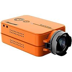 LanLan RunCam 2 RunCam2 Ultra HD 1080P 120 Gratis 16G SD Gran Angular Videocámara con conexión WiFi Cámara FPV para QAV210 Quadcopter Racing Drone RC