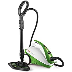Polti PTEU0271 Vaporetto Smart 35_Mop Steam Cleaner Vaporforce Brush, 1800 W, 1.6 liters, Vert
