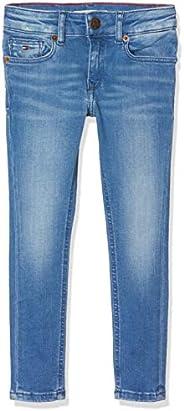 Tommy Hilfiger Nora RR Skinny Lonbfst Jeans para Niñas