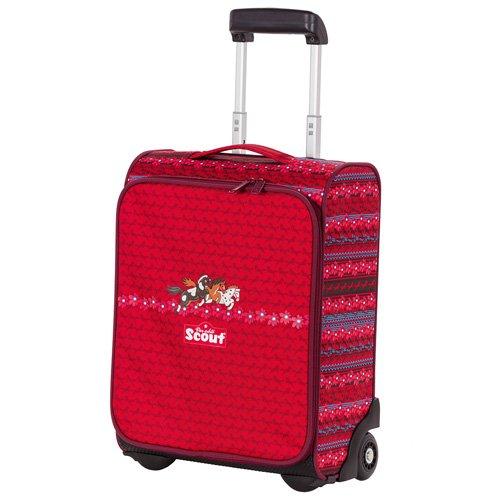 Scout Reisetasche Kindergepäck, 21 Liter, Rot