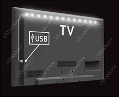 Illuminazione led tv vansky led retro tv bias light strisce led