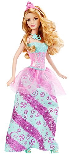 Barbie - DHM54 - Princesse - Bonbons - Multicolore 0887961216837