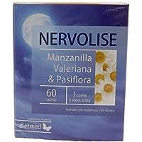 Dietmed NERVOLISE 60 C. Manzanilla, lúpulo, pasiflora, salvia, valeriana, bola
