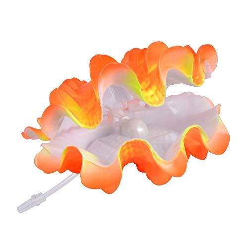 Uotyle EINWEG Tropische Muschel Live-Action Belüftung Aquarium Ornament (Live Süßwasser-tropische Fische)