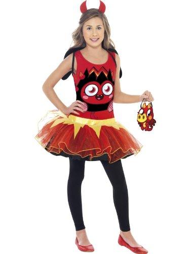 Image of Smiffy's Diavlo Tutu Moshi Monsters - Childrens Fancy Dress Costume - Small - 128cm - Age - 4-6