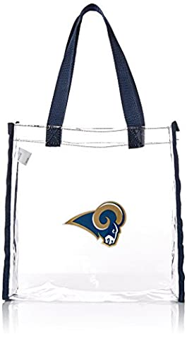 NFL St. Louis Rams Clear Reusable Bag, Blue