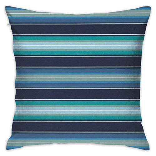 tiao9143 Kissen werfen,Zierkissenbezüge,Cabana Stripe Office Decorative Square Cushion Cover Pillowcase Pillow Throw Pillow Cover -