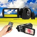 Tradico® TradicoBrand New 3'' TFT LCD 18X Zoom Full HD 1080P 24MP Digital Video Camera DV Camcorder HDMI