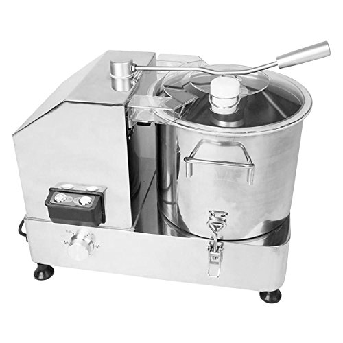 Kutter 9 Liter für Gastronomie Metzgerei aus Edelstahl mit Sichelmesser