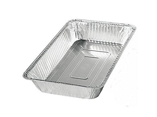 (50 x Alu Behälter GN 1/1 8500ml Alubehälter Aluschale Kuchenform Backschale)
