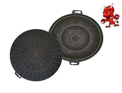 1 ENSEMBLE Filtres À Charbon Actif Filtre Filtre charbon pour hotte Hotte d'aspiration Capot Déduction Respekta CH 22035 IX