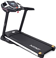 Fitkit FT100S Series 1.75HP (3.25HP Peak) Motorized Treadmill With Free at Home Installation Services and Free