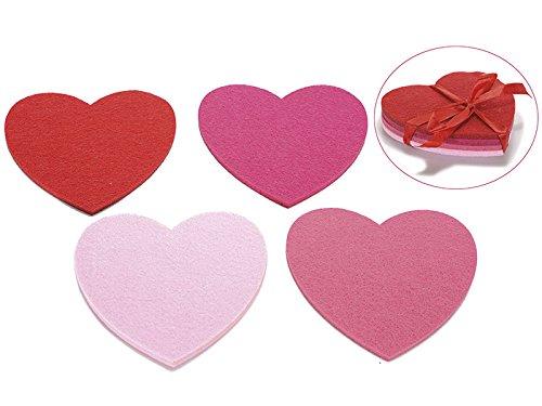 Bomboniere per ospiti–bomboniere: set di 6favore regali di nozze con confetti e bomboniere tag Co