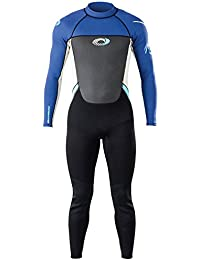 Adults Mens Osprey Origin 3/2mm Full Length Wetsuit Blue