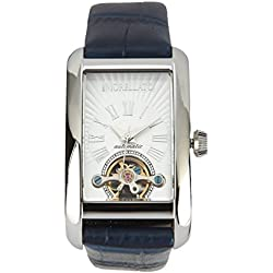 Morellato Time Women's Automatic Watch with White Dial Analogue Display and Blue Leather Bracelet R0121108506