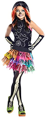 Skelita Filles Costume - Déguisement Skelita Calaveras Monster High fille 3