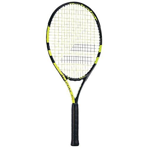 Schläger Junior Tennis (Babolat Tennisschläger Nadal Junior 26, schwarz, 0, 140179-142)