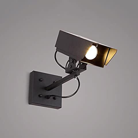 Adelaide - American Vintage lampada da parete camera da letto soggiorno corridoio scala luce ristorante bar personalità creativa leggero vento industriale