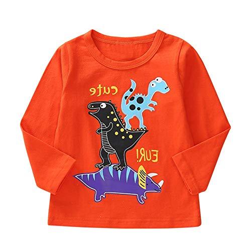 74c1aabf745ac9 Affeco ragazzi t-shirt Kids cute Animal a maniche lunghe in cotone  primavera tops