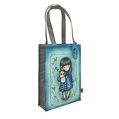 Gorjuss Coated Shopper Bag - Hush Little Bunny