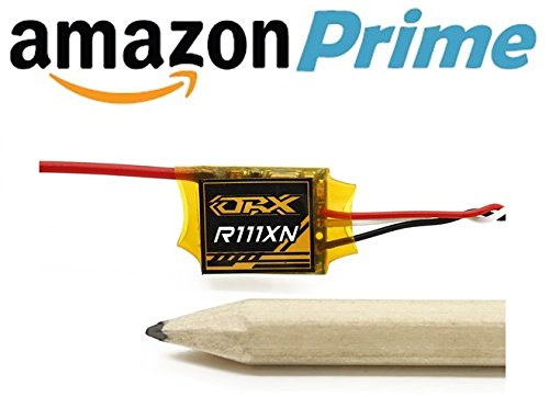 dsmx empfaenger OrangeRX R111X N DSMX/DSM2kompatibel Nano Satellite Receiver für Drohnen–Naze 32, CC3D, KK2, MultiWii, APM (2.0und bis)