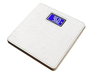 Virgo Digital Iron Body Weighing Scale (White)