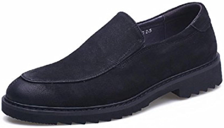 Herren Draussen Warm halten Martin Stiefel Rutschfest Dicker Boden Baumwollschuhe Gemütlich Flache Schuhe EUR