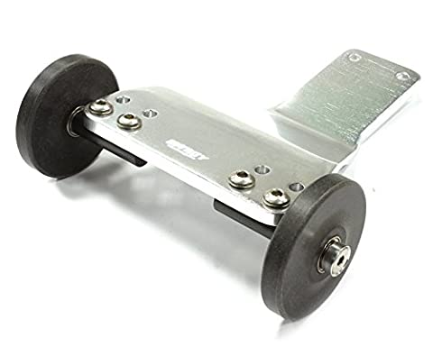 Integy Hobby RC Model T7953SILVER V2 Wheelie Bar for Traxxas 1/10 Electric Stampede 2WD, Bandit & Slash 2WD