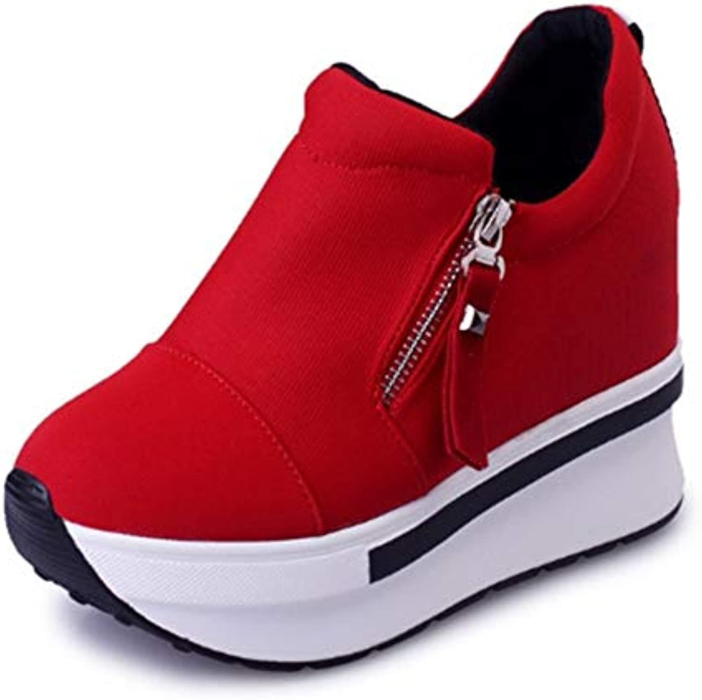 FMWLST stivali scarpe da ginnastica Zeppa Stivaletti Stivaletti Stivaletti da Donna con Cinturino alla Caviglia con Cerniera E Stivali da Donna, 39 | Prezzo Ragionevole  | Sig/Sig Ra Scarpa  0d7d9f