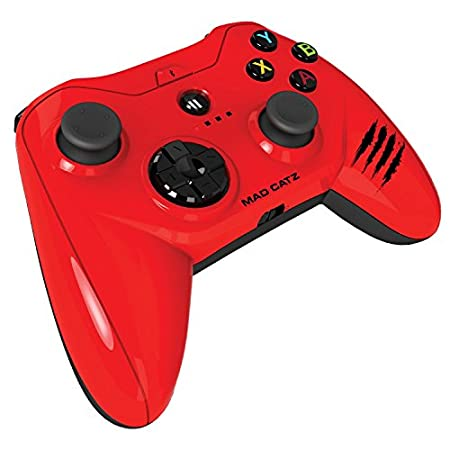 Mad Catz - Mando Micro C.T.R.L.R Bluetooth, Color Rojo (Android)