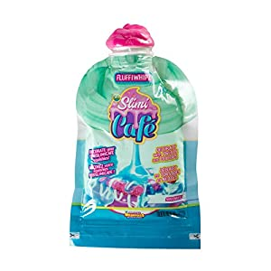 ORB 35783 Slimi Cafe Compound Fluffiwhipz Minteriffic, Paquete Adicional con Slimy Verde Menta como guinda para Decorar Pasteles de Caramelos, Juguete para niños a Partir de 8 años, Color Verde