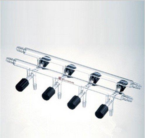 Gowe scarico, sacchetti/gas inerte, doppio, numero di porte: 5, valvola del foro: 0-4mm, larghezza totale: (5 Valve Manifold)