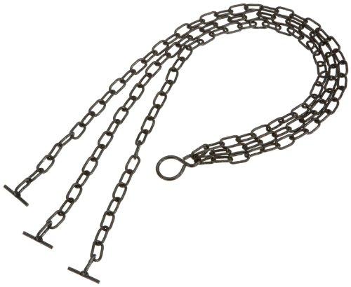 Emsa 507829 Ersatzkette für Siena Nobile Hängeschale, 50 cm, Metall, Silber, Siena