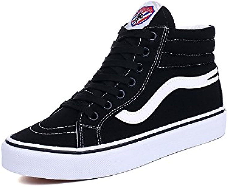 LVZAIXI chaussures Haut-top coréenne chaussures version coréenne Haut-top chaussures en toile chaussures étudiant plaque douillet...B07BBPX8BVParent cd6c87
