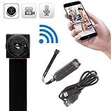 Xizfday 720P HD Mini Cámara Inalámbrica WiFi IP Cámara Espía Módulo Oculto DIY Detección de Movimiento de Cámara Portátil
